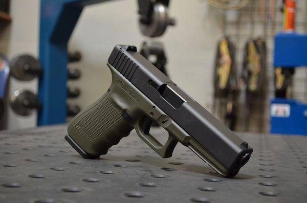 X-Werks Glock 20 G4 10mm OD Green Frame
