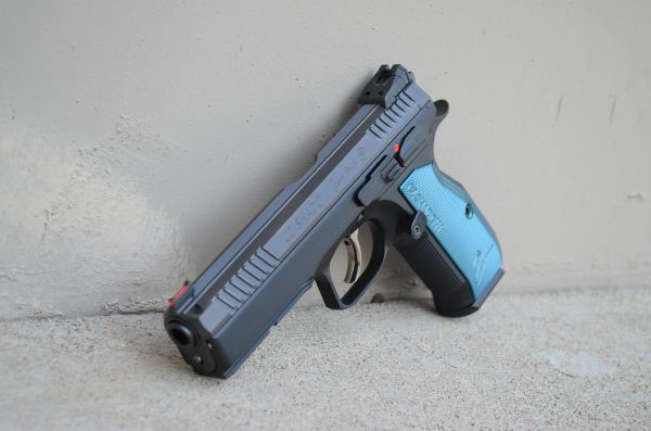 CZ Shadow 2 SP-01 9mm Blue Aluminum 91257
