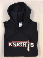 KW Knight's 8 oz youth or adult pullover hoodie