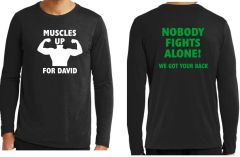 David Hodges Fundraiser Long Sleeved Tee