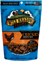 Treats: Wild Meadow Farms Grain-free Chicken Training Treats