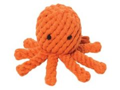 Rope Toy: Organic Rope Octopus