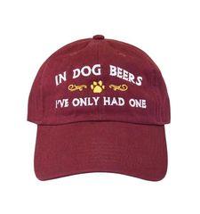 Baseball Cap: Dog Beers