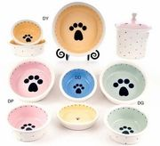 Bowls: Ceramic Food Bowls (Hand-made in the US)