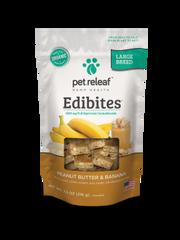 CBD EDIBITES LARGE BREED -- peanut butter and banana