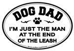 Car Magnet: Dog Dad
