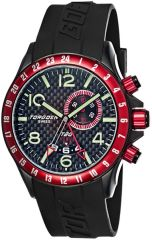 Torgoen T20306 GMT/Dual time, Alarm, Big date window