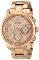 GUESS Women's U0330L2 Rose Gold-Tone Multi-Function Watch