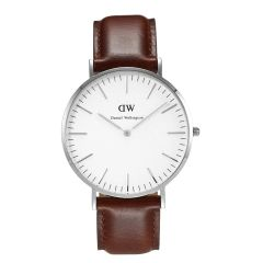 Daniel Wellington 0207DW Classic St. Andrews Man Silver 40mm
