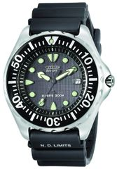 Citizen Eco-Drive 300 Meter Professional Diver Watch Model BN0000-04H