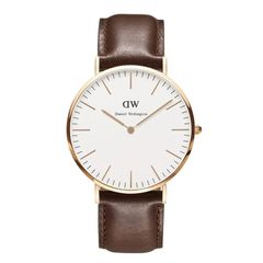 Daniel Wellington 0110DW Classic Cardiff Man Rose Gold 40mm