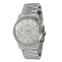 Guess Women's U13593L1 Chronograph Stainless Steel Bracelet Watch