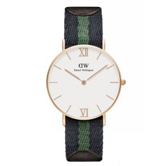 Daniel Wellington 0553DW Grace Warwick Sandblasted Rose Gold 36mm