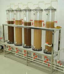 Plexiglass Resin Adsorption Column