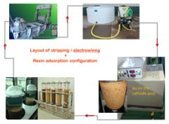 Eco-goldex stripping-recovery system package