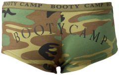 "Camo ""Booty Camp"" lounge/underwear"