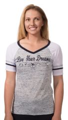 Live Your Dream - Fly Now Womens Shirt