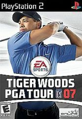 Tiger Woods PGA Tour 07 (Sony PlayStation 2, 2006) (DISC ONLY)