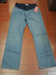 Women's Signature by Levi Strauss Maternity Demi-Panel Bootcut Jeans Misses 10