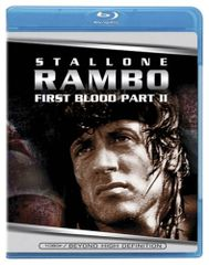 Rambo - First Blood Pt. 2 Part II Two (Blu-ray Disc, 2008)
