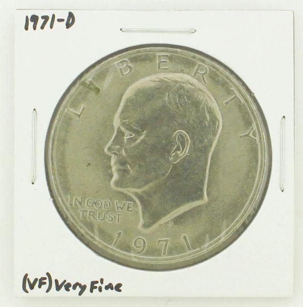1971-D Eisenhower Dollar RATING: (VF) Very Fine N2-2511-2