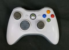 Microsoft Xbox 360 Wireless Controller White with Black Back