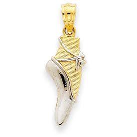 Ballet Shoe Pendant (JC-782)