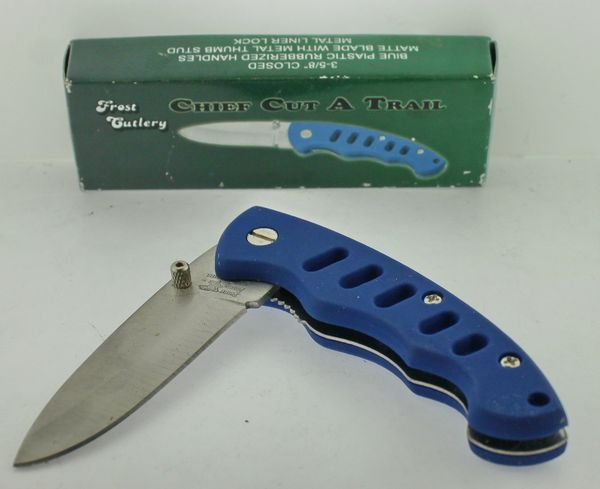 Frost Cutlery Chief Cut A Trail 15-978BL Knife
