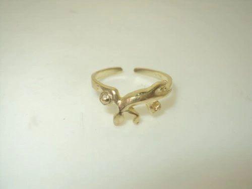 Gecko Toe Ring (JC-933)