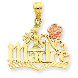 Number 1 Madre Pendant (JC-043)