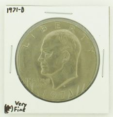 1971-D Eisenhower Dollar RATING: (VF) Very Fine N2-2511-20