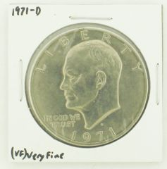 1971-D Eisenhower Dollar RATING: (VF) Very Fine N2-2511-5
