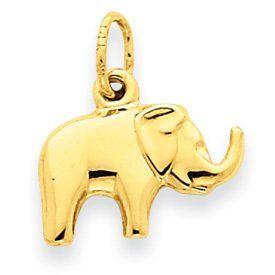 3-D Elephant Charm (JC-081)