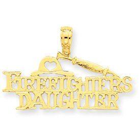 Firefighter's Daughter Pendant (JC-038)