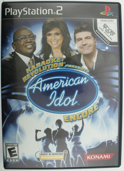 Karaoke Revolution Presents: American Idol Encore (Sony Playstation 2, 2008)