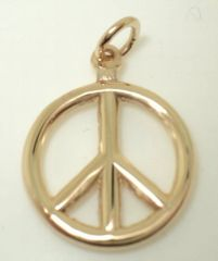 Peace Sign Charm (JC-610)