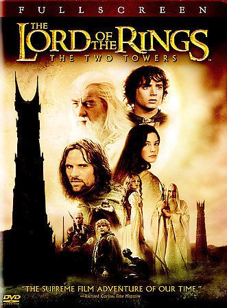 The Lord of the Rings : The Two Towers (2003, 2-Disc Set, Full Screen)