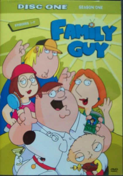Family Guy Season One - DVD Disc One Episodes 1-7