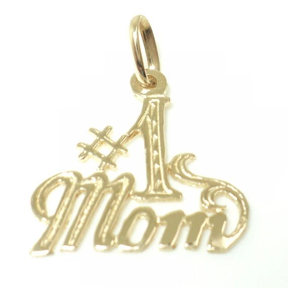 Number 1 Mom Pendant (JC-1022)
