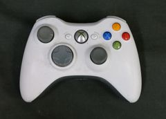 Microsoft Xbox 360 Wireless Controller White with Blue Back