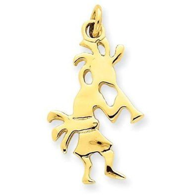 Polished Kokopelli Charm (JC-741)