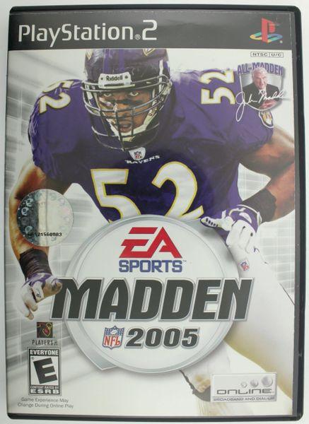 Madden NFL 2005 (Sony PlayStation 2, 2004)