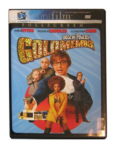 Austin Powers in Goldmember (DVD, 2002, Full Frame, Infinifilm Series)