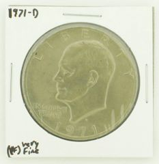 1971-D Eisenhower Dollar RATING: (VF) Very Fine N2-2511-25