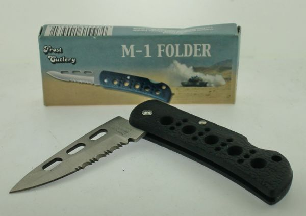 Frost Cutlery M-1 Folder 15-882B Knife