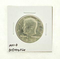 1971-D Kennedy Half Dollar (VF) Very Fine N2-3450-11