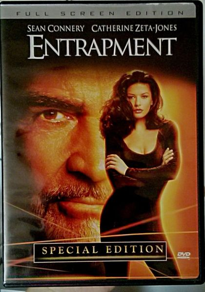 Entrapment (DVD, 2002, Full Screen,Special Edition)