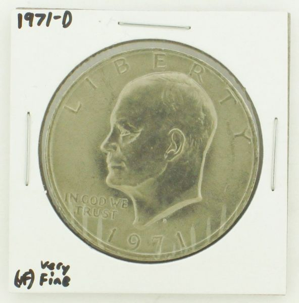 1971-D Eisenhower Dollar RATING: (VF) Very Fine N2-2511-3