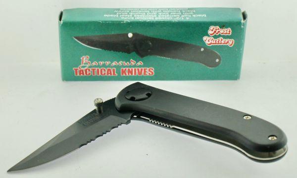 Frost Cutlery Barracuda Tactical Knives TA459B/B Knife