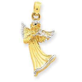 Angel with Violin Pendant (JC-664)